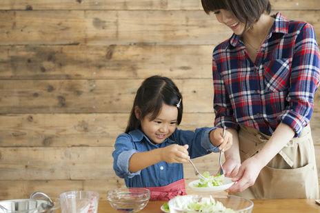 児童養護施設での料理教室